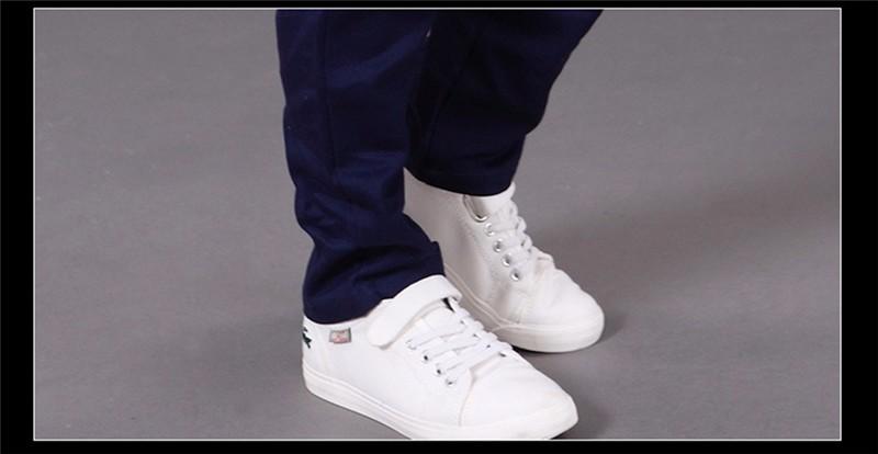 HTB1NKXsPXXXXXcJXXXXq6xXFXXXI - boys pants kids jeans 2018 casual Spring Solid Cotton Mid Elastic Waist Pants for Boy jeans kids Clothing Children Trousers p023