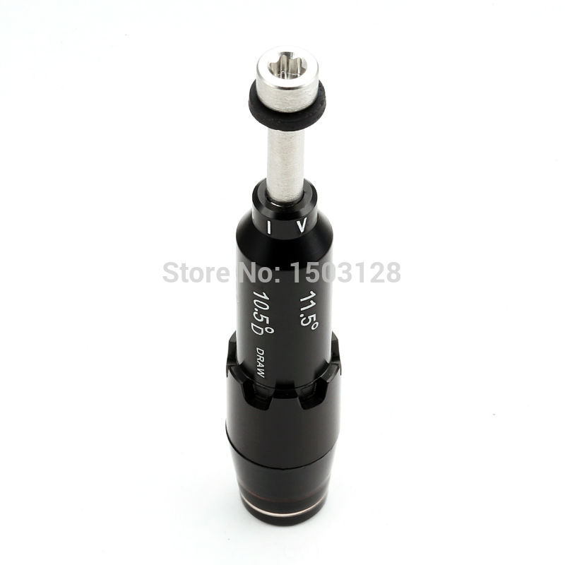 Free Shipping One Piece New Black Color.335 Tip Size Golf  Adapter Sleeve Replacement For Cobra AMP Cell Driver