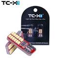 TC-X 2 unids T10 W5W Bombilla Led Canbus T10 Sin Error 24 Leds 3014SMD Blanco 12 V Car Styling Auto para Las Luces Interiores Universal
