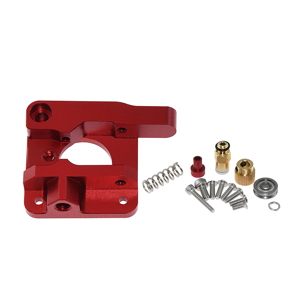 IsMyStore: 3D Printer MK8 Extruder Upgrade Kit Springs Extruder Sock Tube Stepper Dampers Smoother for Creality Ender 3 CR10 CR-10 Printer