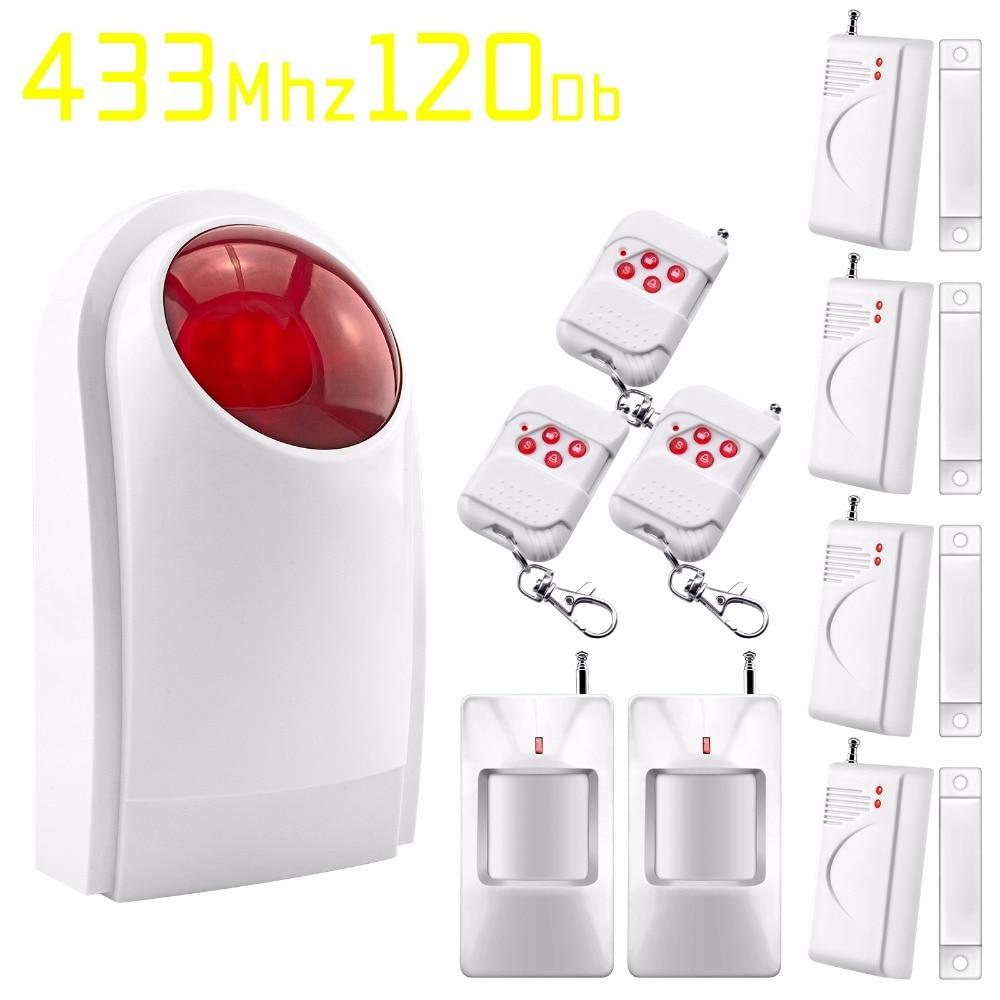 ФОТО Home Garage Automation System Security Alarm System Detector Sensor Remote Control siren alarm system
