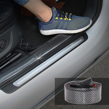 3D Car Stickers Decals 5D Carbon Fiber Vinyl Protector Strip Sticker  Interior Accessories Automobiles Universal Car Styling 5m car styling brand stickers and decals interior decorative 3d thread stickers decoration strip on car accessories