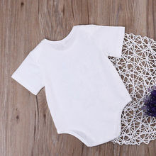 Newborn Infant Baby Boys Girls Clothes IF MOM SAY NO MY AUNT WILL SAY YES Summer Bodysuits Kids Baby Sunsuit ,white  0-24M