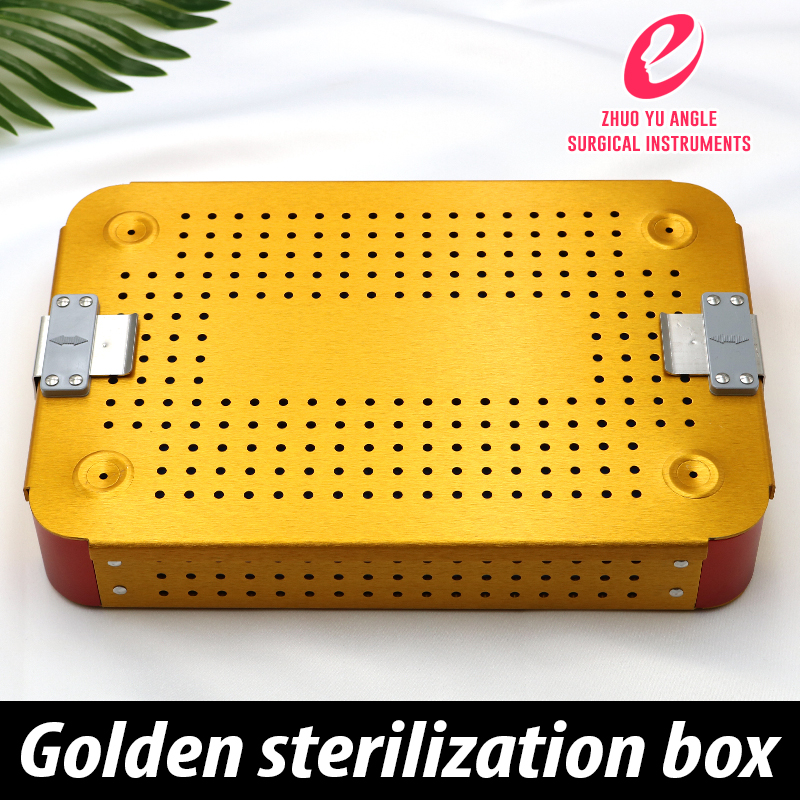 Disinfection Box For Surgical Instruments Dental Cosmetology And Plastic Surgery Imported Silica Gel Pad Under High Temperature