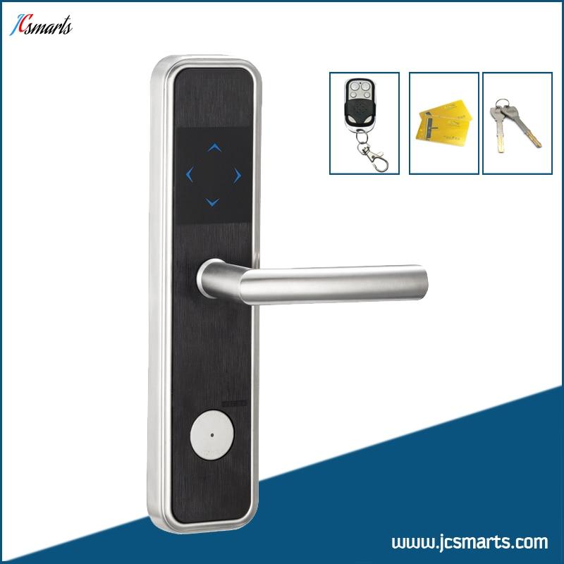 Stainless steel RFID door lock apartment electric lock with controller apartment electric door lock keyless passcode lock with mini size