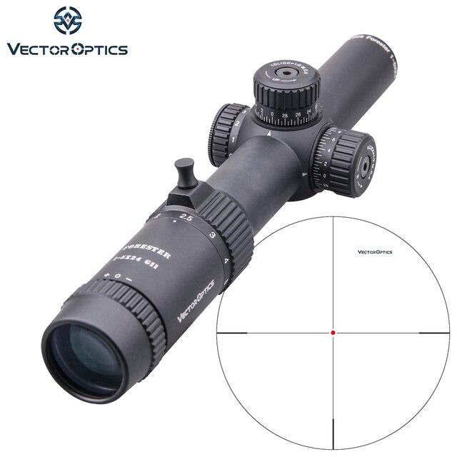וקטור אופטיקה GenII פורסטר 1 5x24 Riflescope 30mm מרכז דוט מואר מתאים AR15 .223 7.62mm Airgun Airsoft ציד היקף