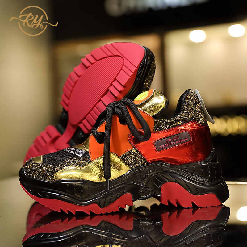 07a9e7b050 RY-RELAA women sneakers Genuine Leather women designer sneakers women 2018  summer new fashion platform casual shoes women ins