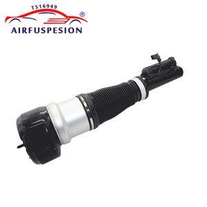 Image 4 - Paar Front Air Suspension Schock Luft Kompressor Pumpe für Mercedes W221 S KLASSE 2213201604 2213204913 2213205113 2213201704
