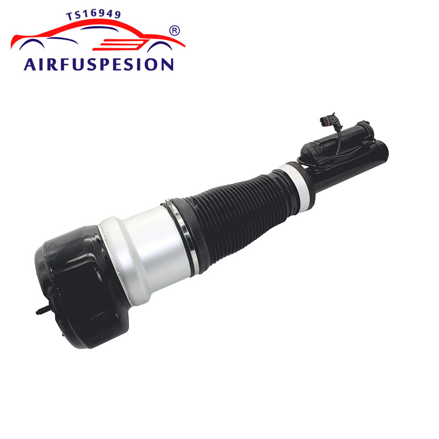 Image 4 - Pair Front Air Suspension Shock Air Compressor Pump for Mercedes W221 S CLASS 2213201604 2213204913 2213205113 2213201704-in Shock Absorber Parts from Automobiles & Motorcycles