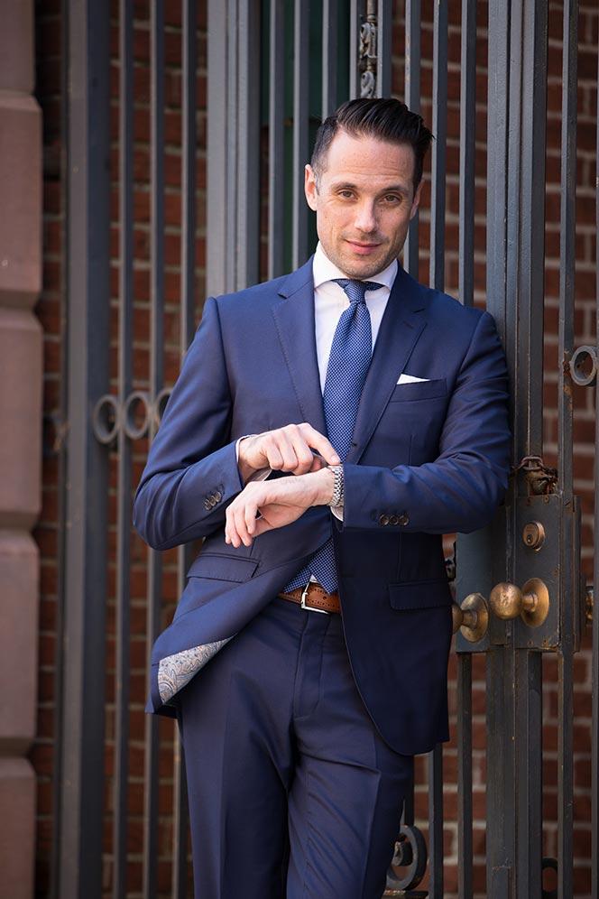 Latest Coat Pant Designs Blue Formal Custom Wedding Suits For Men