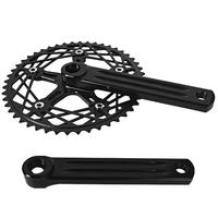 Fixed Gear Foldable Bicycle Bike Retro Chain Wheel Crank Crankset Suit 48T 170Mm Hollow Dental Plate Crank Bicycle Accessories