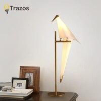 TRAZOS светодио дный настольная лампа Smart настольные лампы Desklight классический Спальня лампы для Гостиная Новинка режимов с KC IEC BSM для детей
