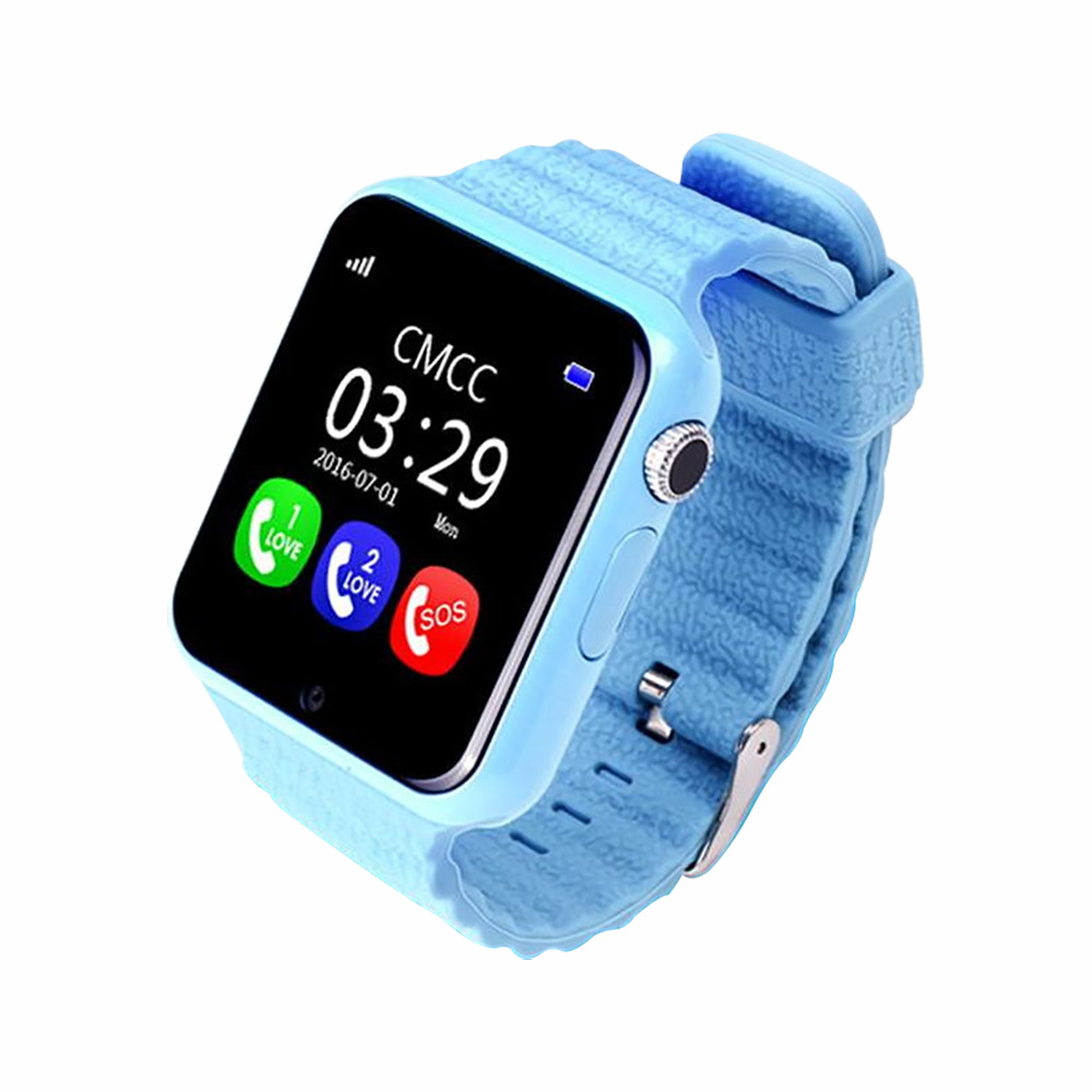 V7K smart phone watch 1.54 touch screen child positioning watch Kids GPS smart wearable device цены онлайн