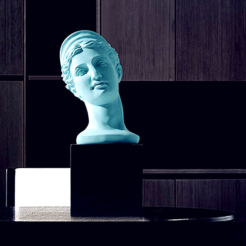 Статуэтка венеры бюст богиня красоты Bnd любовь фигура головные портреты украшения дома Смола Искусство ремесло креативный подарок L2739