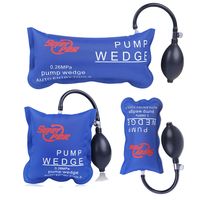 New Design Super PDR Pump Wedge Locksmith Tools Blue Auto Air Wedge Airbag Lock Pick Set