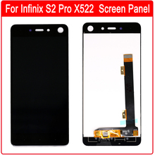 For Infinix S2 Pro Touch Screen Sensor Digitizer + LCD Display Assembly Replacement Repair Parts + Free Tools
