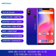 Get more info on the Ulefone S10 Pro Mobile Phone Android 8.1 5.7 inch 19:9 MT6739 Quad Core 2GB RAM 16GB ROM 13MP+5MP Face Unlock 4G Smartphone