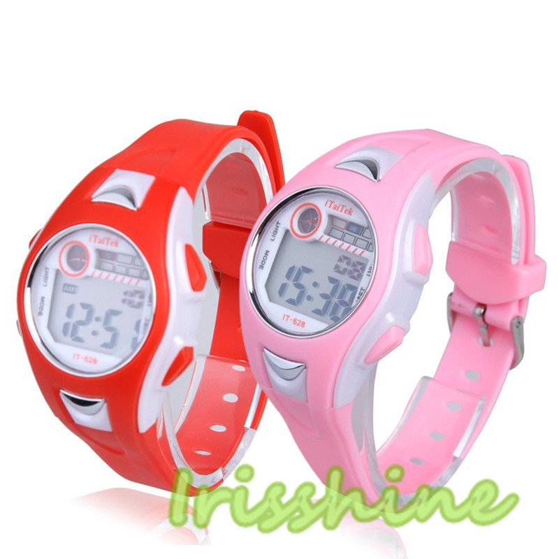 Irisshine #7040 Children Watch Boys Girls Swimming Sports Digital Wrist Watch Waterproof