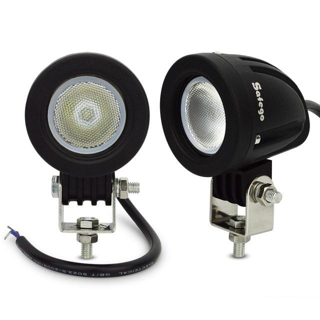 2pcs Led Driving Light 10W Led Work Lamp Off Road 10W Led Work Light 12V LED