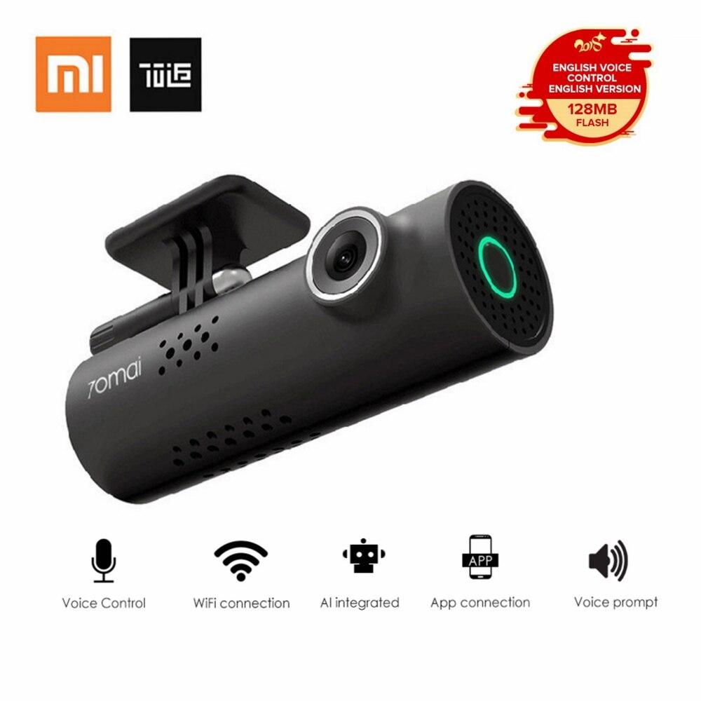 Xiaomi 70 Minuti di Smart WiFi DVR 130 Gradi Senza Fili Car Dash Cam 1080 p Full HD Versione di Notte G- sensore di Registratore di Guida