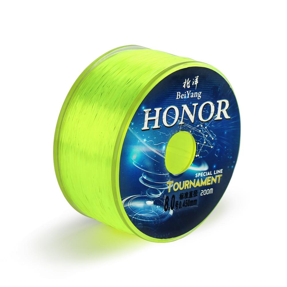 High Quality 200m Nylon Fishing Line Mainline Tippet Japan Material Bass Carp Fish Fishing Accessories T30