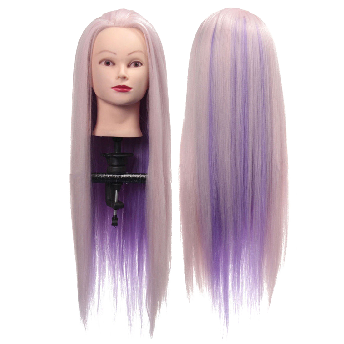 Hair Extensions & Wigs Bald Mannequin Head With Table Clamp And T-pin For Wig Making Best Cosmetology Manikin Model Doll Head For Wig Hat Display Aromatic Flavor