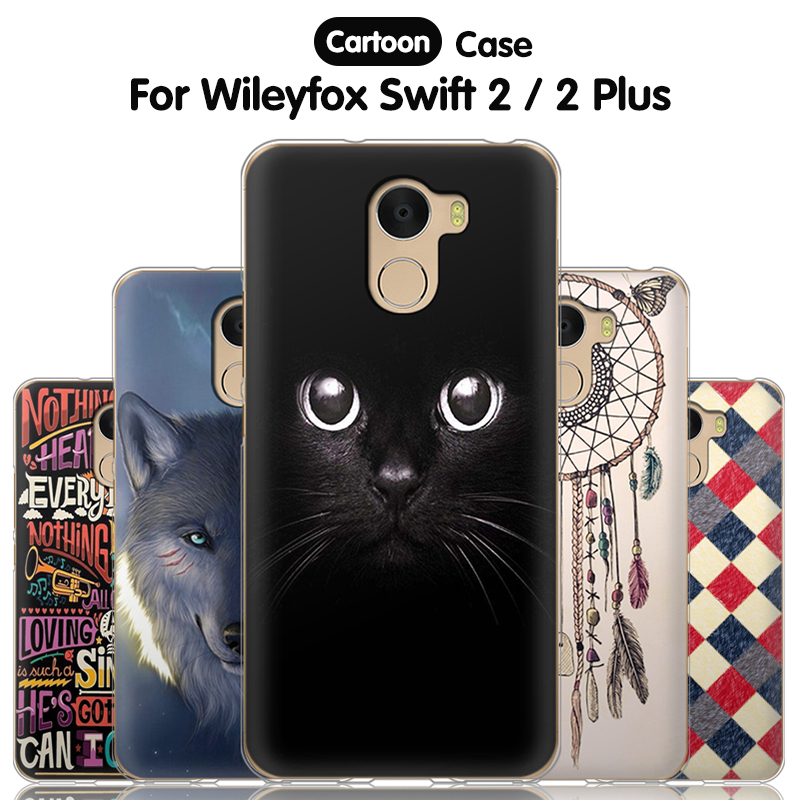 JURCHEN Phone Case For Wileyfox Swift 2 Case For Wileyfox Swift 2 Plus Silicone Soft TPU Back Cover For WIleyfox Swift 2 Case 5