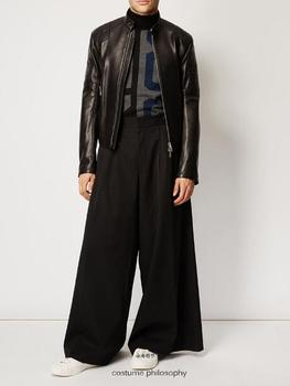 2020 New Men's clothing Hair Stylist fashion street plus size Super loose Bell-bottoms Wide Leg Pants culottes costumes