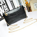 Explosion models fashion handbags Shoulder Messenger bag crocodile pattern ladies clutch bag small square packet European style