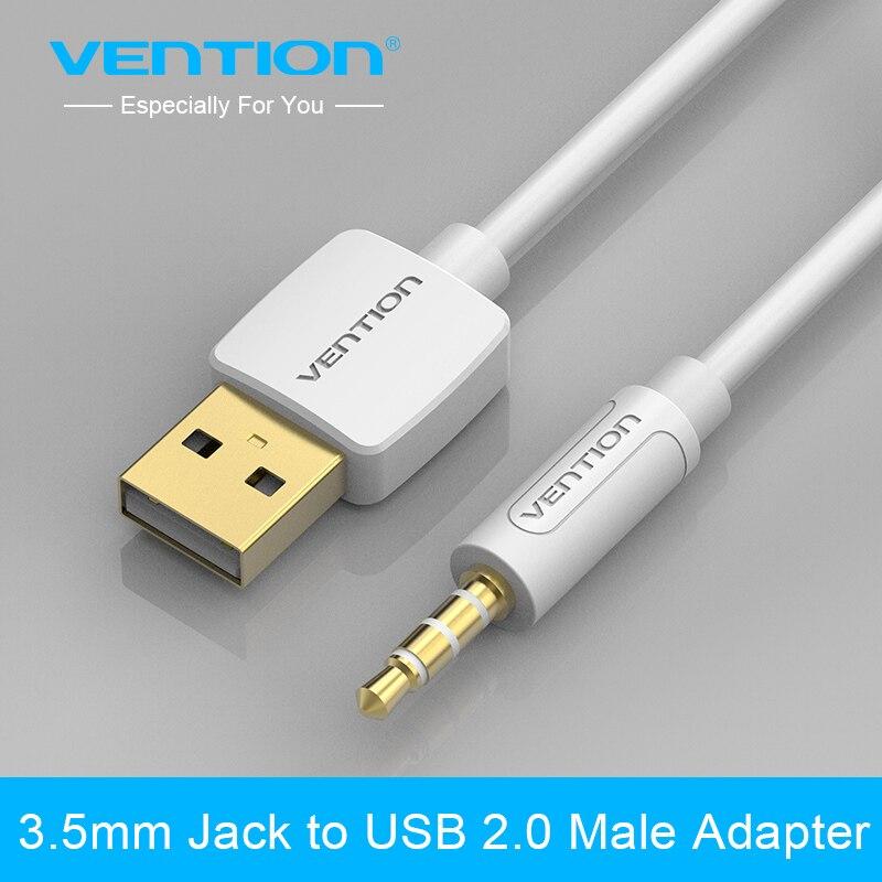 Wencji 3.5mm Jack USB 2.0 Ładowarka Kabel Do Transmisji Danych M/M ...