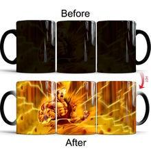 Dragon Ball Color Changing Mug