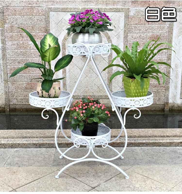 702879cm European Balcony Fower Pots Shelf Garden Flower