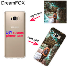 DREAMFOX Пользовательские DIY печати фото Мягкие TPU чехол для телефона для samsung Galaxy Note 3 4 5 8 9 S5 S6 S7 S8 S9 Edge Plus Grand Prime(China)