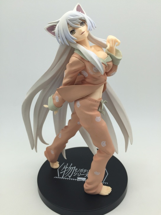 20cm Japanese sexy anime figure Monogatari Nisemonogatari Hanekawa Tsubasa action figure collection model font b toys