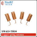 50pcs/lot 433MHz Helical Spring Antenna SW433-TH10 for wireless RFmodule