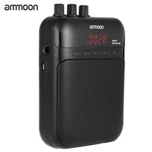 Ammoon amp 01 5w gravador de guitarra, alto falante, cartão tf compacto, multifunção, portátil