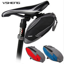 VSHENG Bicycle Bag Panniers MTB Bike Bag Cycling Bicycle Saddle Tail Rear Seat Storage Bags Bicycle Accessories Bicycle Carrier