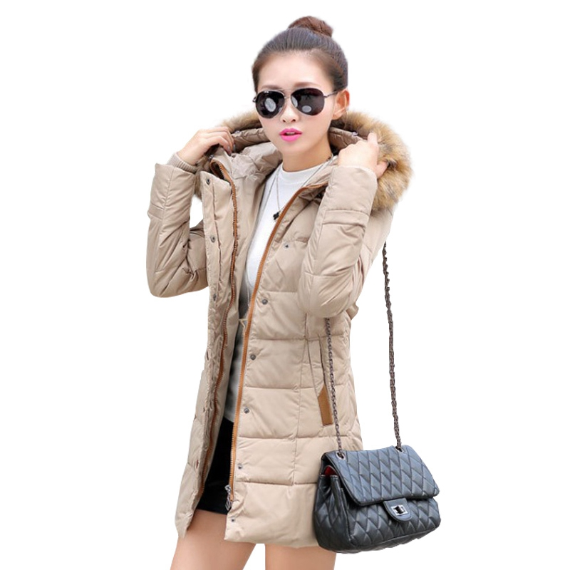 ФОТО manteau femme winter jacket women coat parka thicken womens jackets and coats abrigos y chaquetas mujer invierno 2016 parkas for