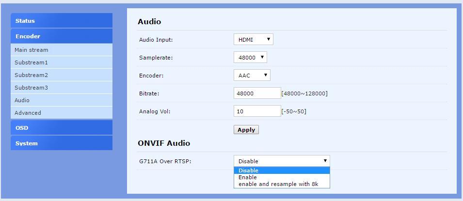 U8VisionH.265 / H.264 AVC Wifi HDMI IPTV ნაკადი - სახლის აუდიო და ვიდეო - ფოტო 5