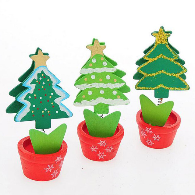 Pretty Christmas Decoration Supplies Red Green Christmas Tree Shaped