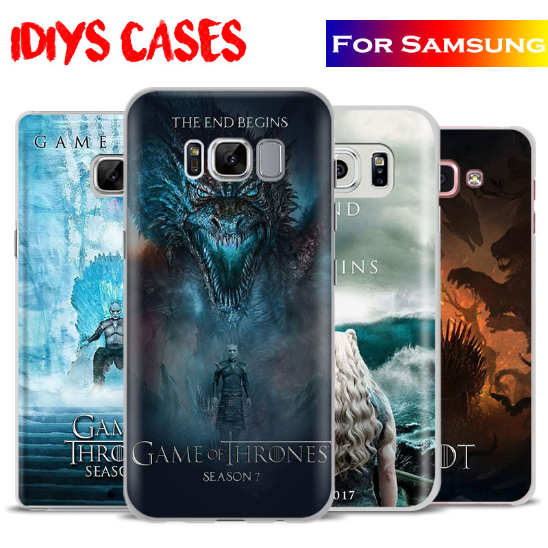 Game of Thrones Season 7 Gots7 Phone Case Cover For Samsung Galaxy S4 S5 S6 S7 Edge S8 s9 Plus Note 8 2 3 4 5 A5 A710 J5 J7 2017