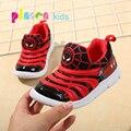 Весна-Осень 2019, детская обувь с человеком-пауком для мальчиков, кроссовки для девочек, спортивный Детский Повседневный светильник, дышащая детская обувь для мальчиков - фото