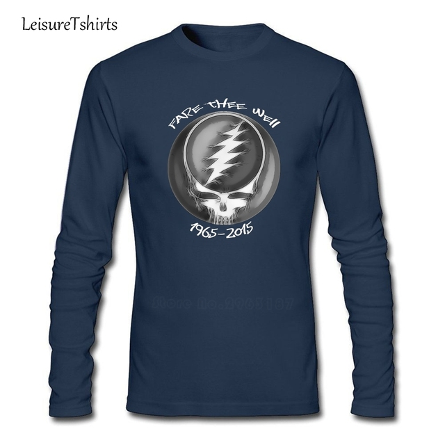 "45cf7e0f Grateful Dead "" 50th Anniversary Steal Your Face GD50 Adult T Shirt  2018 Fashion Loose"