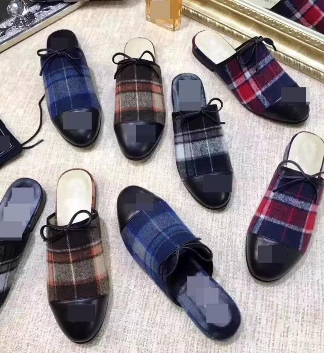 Mujeres CALIENTES alpargatas zapatos casuales mujer cheques rejillas despojado lienzo pisos loafers slip on slipers(