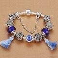 HOMOD Bracelete das Mulheres Novas Elegante Bohemian Tassel Bracelet fit Europeu Charm Bracelet Pulseiras FemininaSpecial Novo Produto
