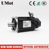 400W ac servo motor braking 220v cnc servo motor with CANopen ac servo drive single/three phase ac motor match driver