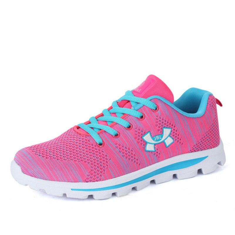 08f75b5b2b3ec 2016 línea de la mosca de tejido transpirable mujer zapatos de las mujeres  calzado deportivo zapatillas de deporte para mujer zapatos para correr  zapatillas ...