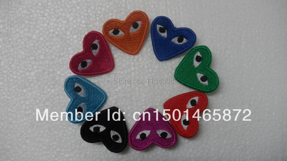 Fashion Comme Des Garcons Play Love Brooch Pin Accessories Corsage More Colors 003 Pin Tool Pin Goldpin Laser Aliexpress