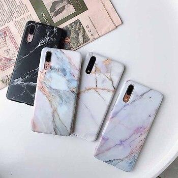 Marble Case Huawei P20 1