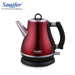 1.2L OriginalColorful 304 Stainless steel Electric Kettle 1500W Household 220V Quick Heating Electric Boiling Pot Sonifer